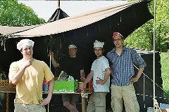 Pfingstfahrt 2008 — Die Küchencrew!
